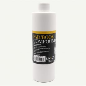 Lineco Pad/Book Compound- Adhesive for Binding Pads & Books 12 fl. oz.