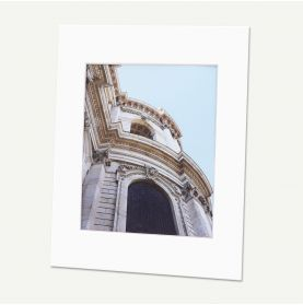 Pack of 25, 11x14 Pre-cut Mat with Whitecore fits 8x10 Picture