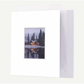 11x14 Pre-cut 8 PLY Mat with Whitecore fits 5x7 Picture + Backing + Bags