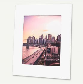 Pack of 100, 16x20 Pre-cut Mat with Whitecore fits 11x14 Picture