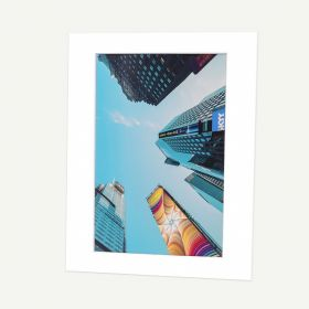 11x14 Pre-cut Mat with Whitecore fits 8x12 Picture
