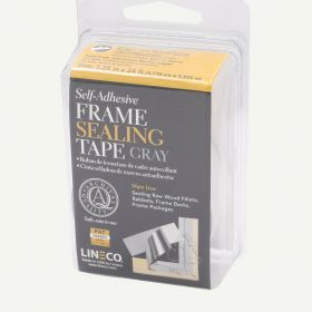 Lineco Gray Frame Sealing Tape 1.25 in x 24 ft