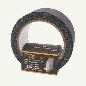 Lineco Book Repair Tape- 2 Inch Wide Self Adhesive Black