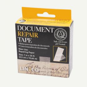 Lineco Archival Document Repair Tape 1 Inch x 35 Feet