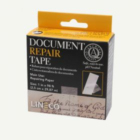 Lineco Archival Document Repair Tape 1inch x 98 Feet