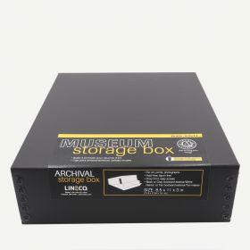 Lineco Museum Quality Drop-Front Boxes - 8.5 x 11