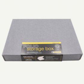 Lineco 9x12 Gray Clamshell Box