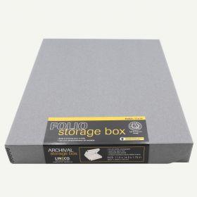 Lineco 11x14 Gray Clamshell Box