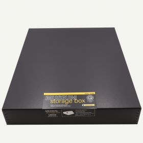 Lineco 16x20 Black Museum Storage Box