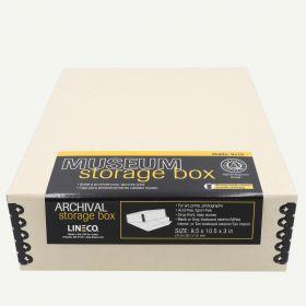 Lineco 8x10 Tan Museum Storage Box