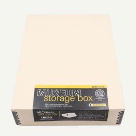Lineco 9x12 Tan Museum Storage Box