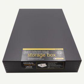 Lineco 11x17 Black Museum Storage Box