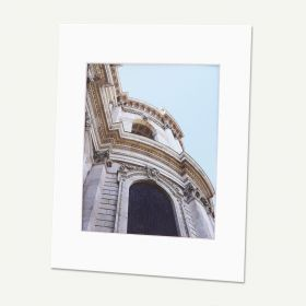 Pack of 50, 11x14 Pre-cut Mat with Whitecore fits 8x10 Picture