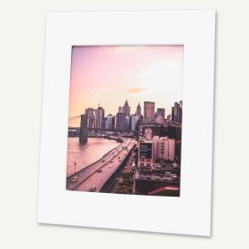 Pack of 50, 16x20 Pre-cut Mat with Whitecore fits 11x14 Picture