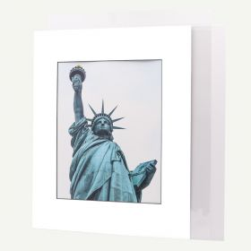 16x20 Pre-cut Mat with Blackcore fits 11x14 Picture + White Foam Board + Bags