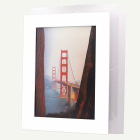 18x24 Pre-cut Mat with Whitecore fits 13x19 Picture + Backing + Bags
