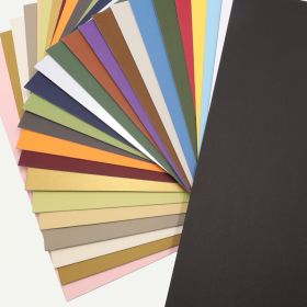 Pack of 50, 16x20 Uncut Mat with Whitecore, MIX Colors