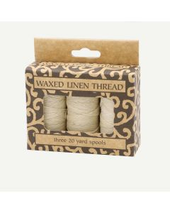 Lineco Natural Color Waxed Linen Thread