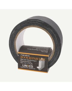 Lineco Book Repair Tape- 2 Inch Wide Self Adhesive Black