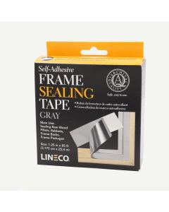 "Lineco Frame Sealing Tape - 1.25 "" x 85'"