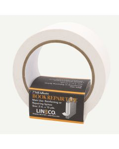 Lineco White 2 inch Book Repair Tape