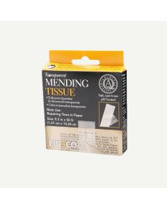"Lineco Transparent Mending Tissue 1/2""x600"""
