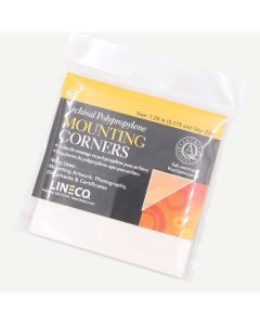 "Lineco Archival Mounting Corners 1.25"" Polypropylene Corners. Pack of 256."