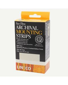 Lineco See Through Archival Mounting Strips