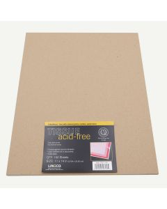 Lineco 11x14 Unbuffered Acid-Free Interleaving Tissue. Pack of 100.