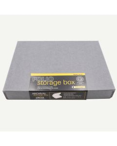 Lineco 9x12 Gray Clamshell Box