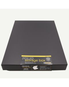 Lineco 13x19 Black Clamshell Box