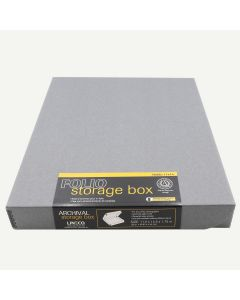Lineco 11x14 Gray Clamshell Box