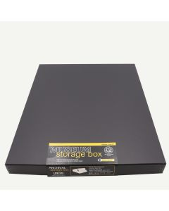 Lineco 14x18 Black Museum Storage Box