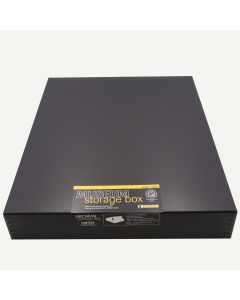 Lineco 16x20 Black Museum Storage Box
