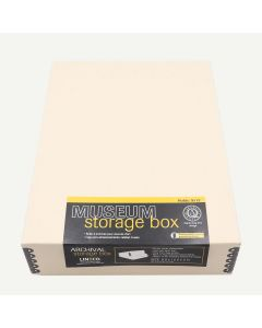 Lineco 9x12 Tan Museum Storage Box
