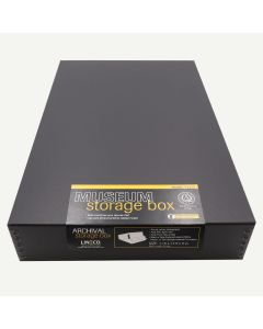 Lineco 11x17 Black Museum Storage Box