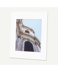 Pack of 100, 11x14 Pre-cut Mat with Whitecore fits 8x10 Picture