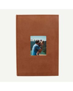 Suede Rusty Bronze Photo Album for 300 4x6 Pictures